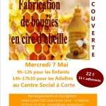 affiche stage bougies mai 14